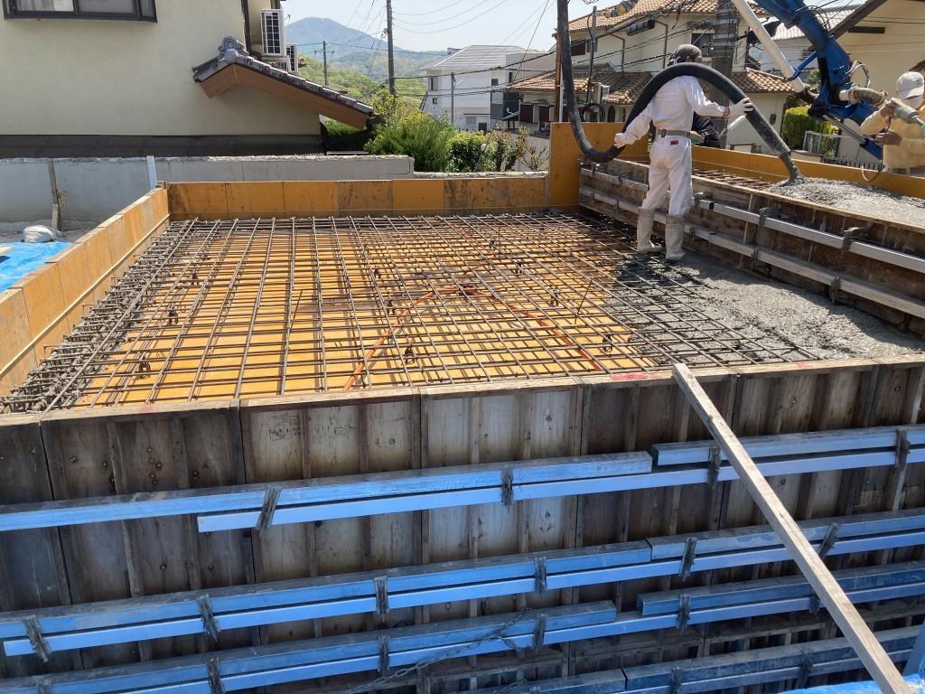 神戸市須磨区M様邸基礎工事